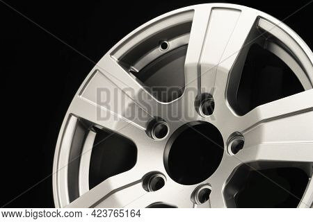 A Fragment Of The New Alloy Wheels For The Suv. Auto Parts And Tuning