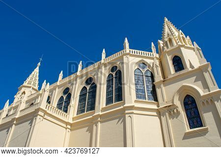 Sanctuary Of The Virgin Of Regla De Chipiona, Cadiz. Andalusia. Spain. Europe.