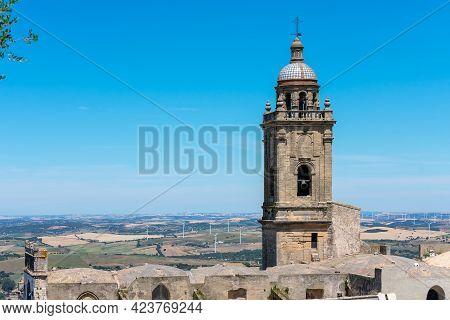 Church Of Santa María La Mayor La Coronada In Medina Sidonia, In The Province Of Cadiz. Andalusia. S