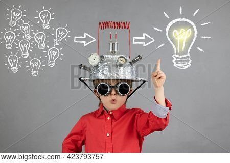Education, Artificial; Intelligence And Business Idea Concept