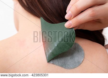 Anti-inflammatory Medical Herbal Plaster For The Treatment Of Spasms And Pain Relief Of Intervertebr