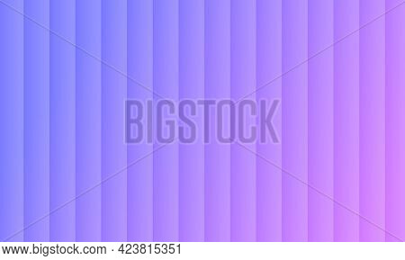 Violet Abstract Background. Cover With Stright Stripes. The Pattern For Ad, Booklets, Leaflets. Vect