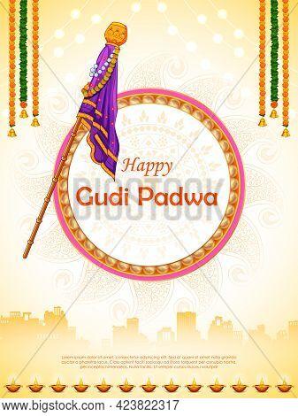 Gudi Padwa Lunar New Year Celebration In Maharashtra Of India