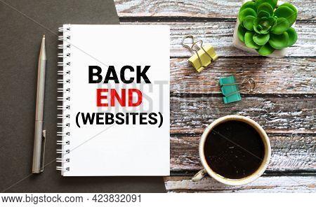 Programming Of Internet Website. Developer Occupation Work Photo. Webdesigner Workstation. Www Softw