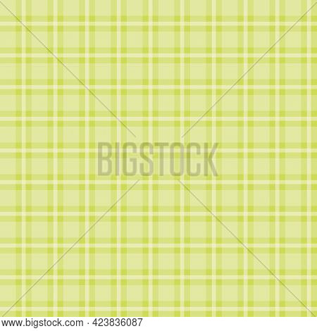 Seamless Plaid Pattern Vector. Texture From For Tablecloths, Clothes, Shirts And Blankets. Scottish