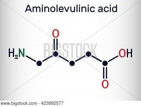 Aminolevulinic Acid, δ-aminolevulinic Acid, Dala, δ-ala, 5ala Molecule. It Is An Endogenous Non-prot