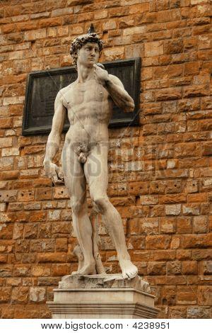 David In The Piazza Della Signoria