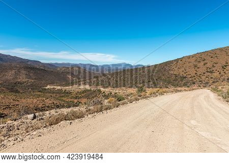 The Ouberg Pass On Road P0294 Near Montagu In The Western Cape Karoo