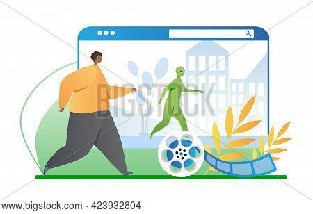 Animation Studio Create Post Production Special Effects For Movies. Ufo, Alien, Invaders, Zombies, R