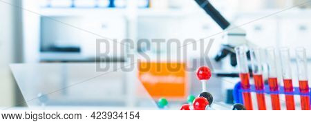 Microbiological items in science laboratory