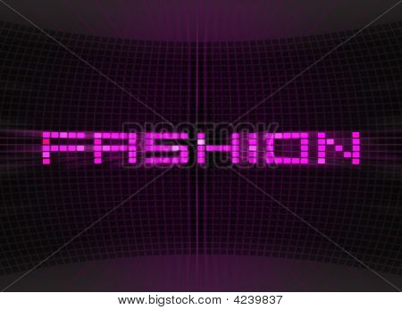 Abstract Fashion Background With Light
