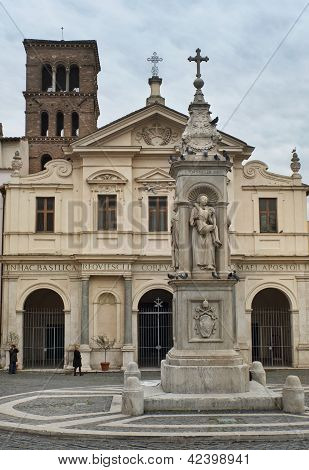 Basilica Of St. Bartholomew On The Tiber Island, Rome