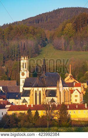 Vyssi Brod Cistercian abbey in southern Bohemia, Czech Republic