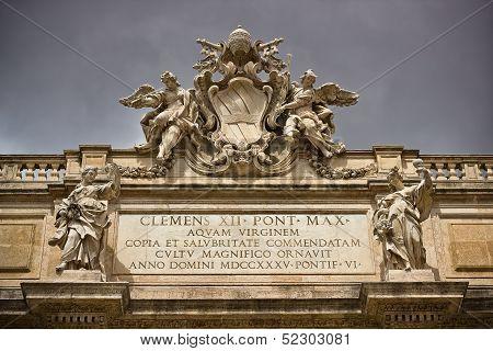 Fontana di Trevi in Rome Italy
