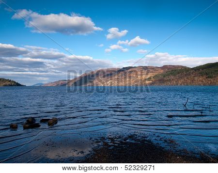 View Over The Famous Loch Ness