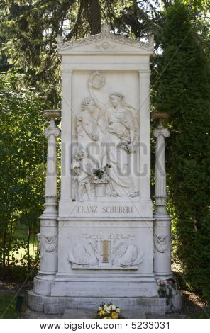 The Tomb Of Franz Schubert