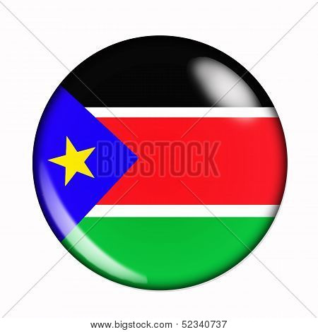 Button Flag Of South Sudan