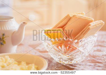 Wafer On Table