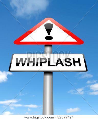 Whiplash Concept.