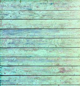 Aquamarine Wooden Background