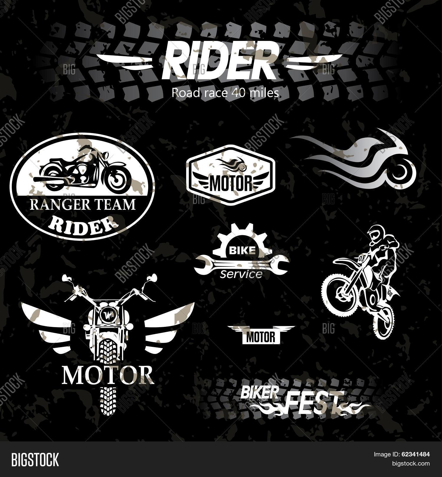 Motorcycle Vintage Vector & Photo (Free Trial)   Bigstock