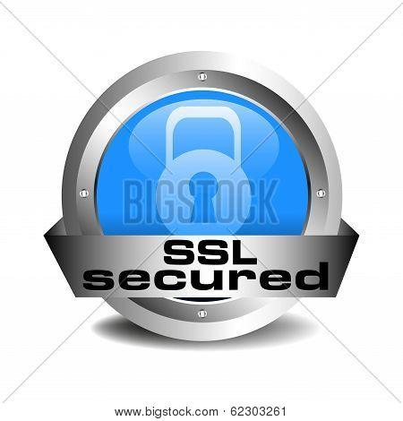 SSL secured icon