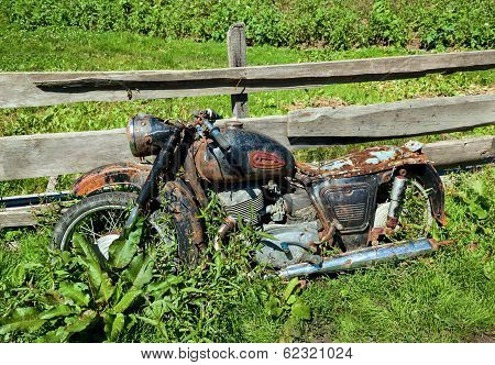 Old Classic Motorcycle