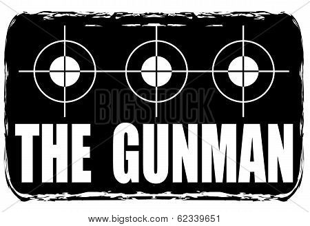 The Gunman Stamp