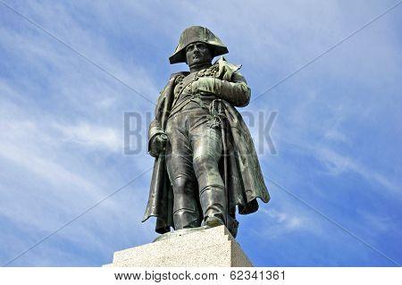 Napoleon Monument In Corsica