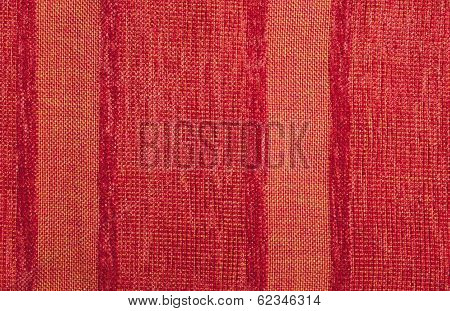 Variable Colors Of Red Strings And Red Fur