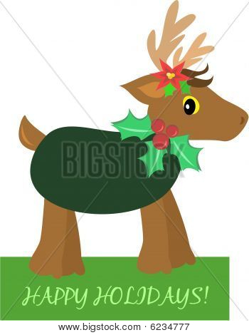 Christmas Holiday Deer