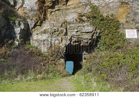 Window In The Rock Sark