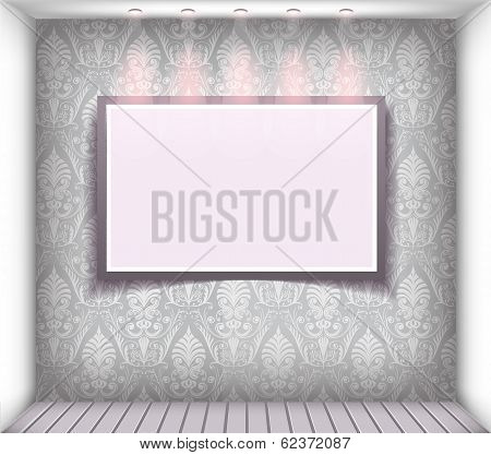 Vector boutique window display