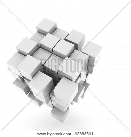 3D Illustration Basic Geometric Shapes