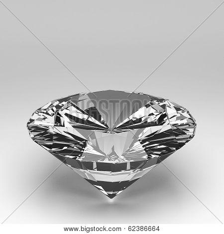 3D Diamond Isolated