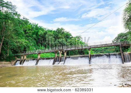 River Locks In Thailand