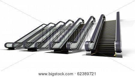 Four Escalator