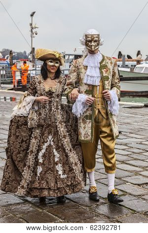 Venetian Couple