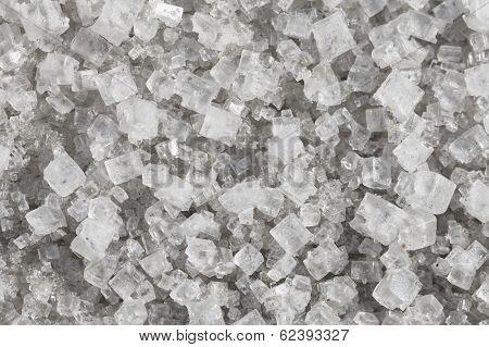 Large Crystals Of Sodium Chloride