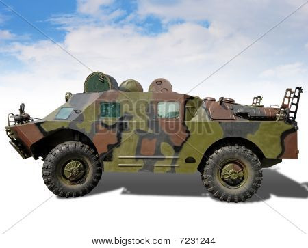 Armoured troopcarrier