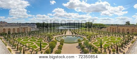 Orangery Was Designed By Louis Le Vau, It Is Located South Of The Palace Versailles, Paris, France.