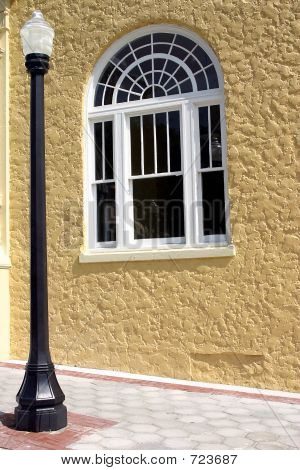 Lamp post and Window