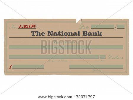Vintage check