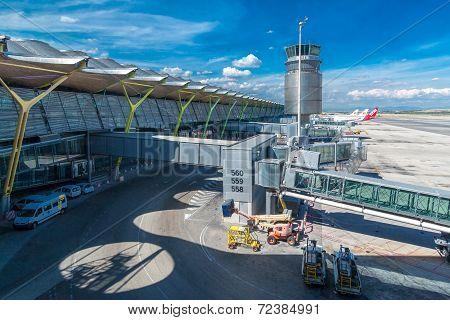 Adolfo Suarez Madrid Barajas Airport
