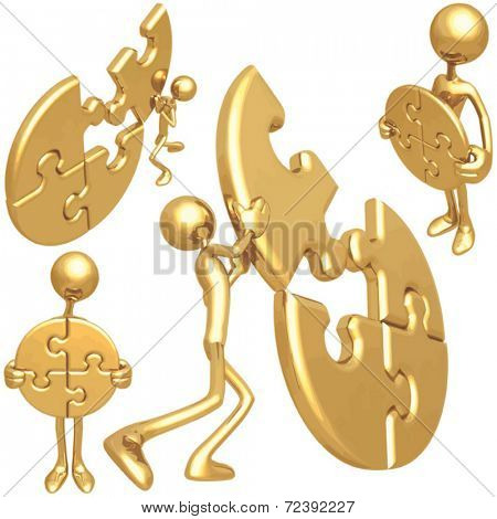 Golden Puzzle Concepts