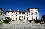 Vizcaya, Florida's grandest residence, once belongs to millionaire industrialist James Deering, is in downtown Miami, Florida, USA. poster