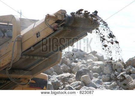 Construction - Rock Crusher