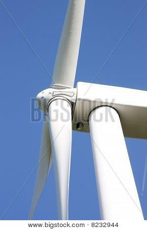 Wind Turbine Detail vertical