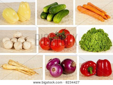 Various vegetable