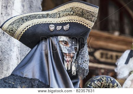 Disguise Person With A Tricorn